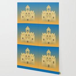 Sand Castle Sunshine Wallpaper