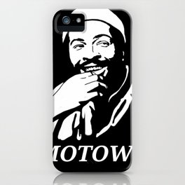 """Marvin Gaye """"Prince of Motown"""" iPhone Case"""