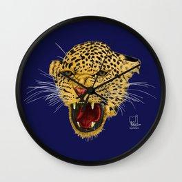 Leopard face Wall Clock