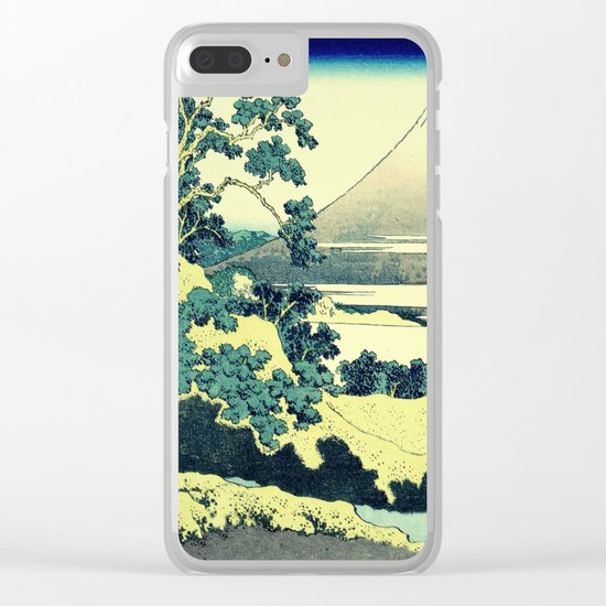 Crossing at Kina Clear iPhone Case