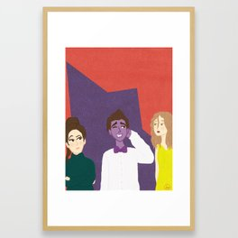 Denton Little Framed Art Print