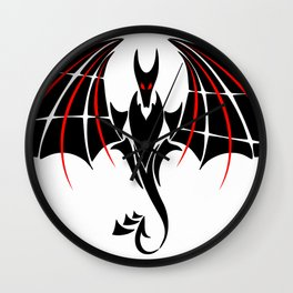 Antaressium - beautiful dragon Wall Clock