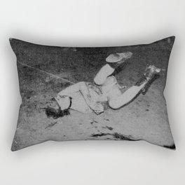 GG Allin on the floor Rectangular Pillow