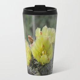 California Cactus Blooms Travel Mug