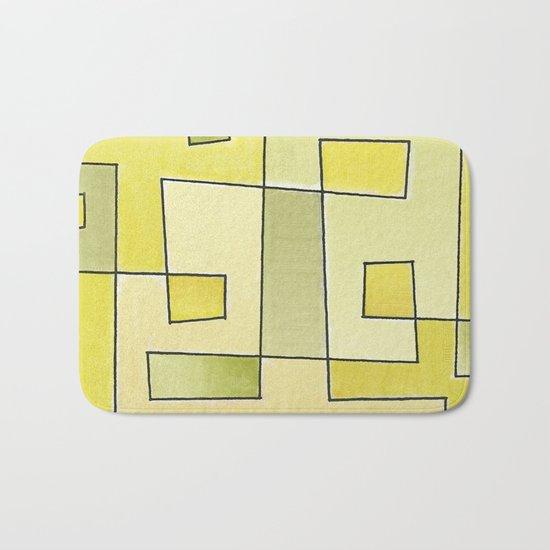 "Proto pattern n 2 ""fresh lemonade"" Bath Mat"