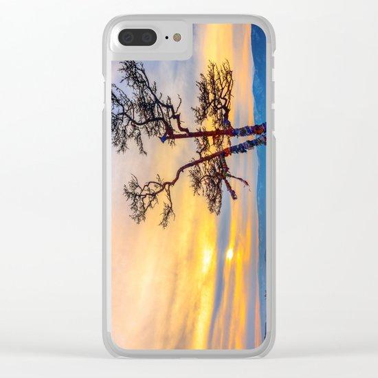Baikal pine Clear iPhone Case