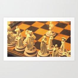Checkmate Art Print