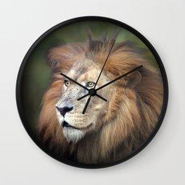 Lion Panthera Wall Clock