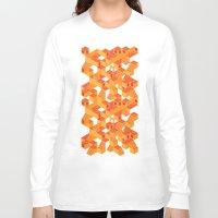 escher Long Sleeve T-shirts featuring Escher cube by Tony Vazquez