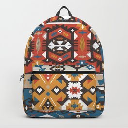 American indian ornate pattern design Backpack