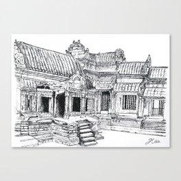 Angkor Wat Canvas Print