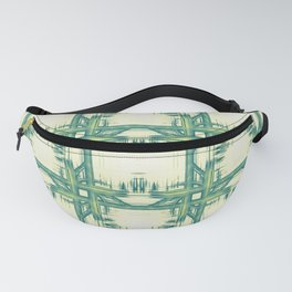 Seamless thorny pattern Fanny Pack