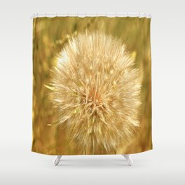 Dandelion Shower Curtain