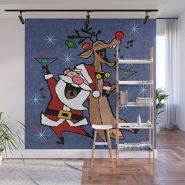 Happy Drunken Holiday to you all Wall Mural