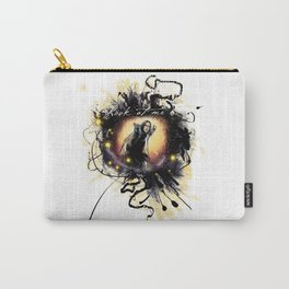 """Laptop-Skin """" Look at me"""" Carry-All Pouch"""