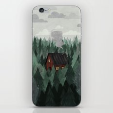 Cottage in the Woods iPhone & iPod Skin