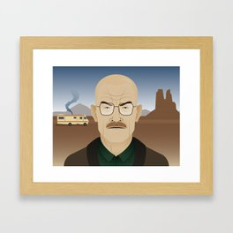 Walter White Framed Art Print