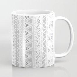 Grey aztec pattern Coffee Mug