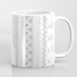 Grey aztec pattern Coffee Mug