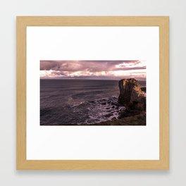South Shields Beach Framed Art Print