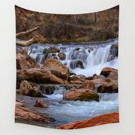 Virgin_River Falls 0848 - Zion Court Wall Tapestry