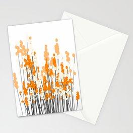 Orange Spring Bouquet on White Background #decor #society6 #buyart Stationery Cards