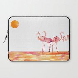 The Wading Flamingos Laptop Sleeve