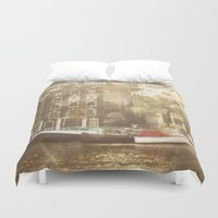amsterdam Duvet Covers featuring Amsterdam by Cassia Beck