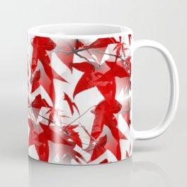 Red Leaves - Seamless Coffee Mug