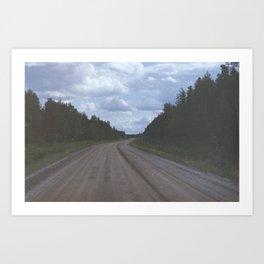 Open Road Art Print