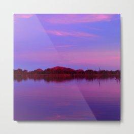 Pinks of Lake Kununurra Metal Print