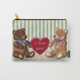 I Love You Beary Much! Carry-All Pouch