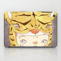 hiccup iPad Cases featuring DRUNKEN TIGAAAAR by PAUL PiERROt