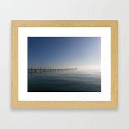 Sylvan Beach Pier, La Porte, Texas 1 Framed Art Print