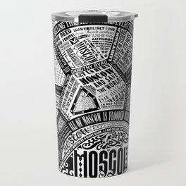 Moscow Map Travel Mug