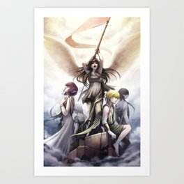 Wings of Victory Art Print
