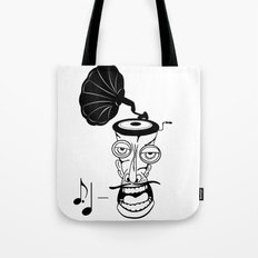 Music In My Head Tote Bag