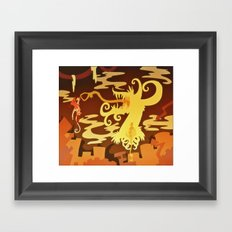 Ticking Framed Art Print