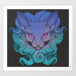 Octosphinx Art Print