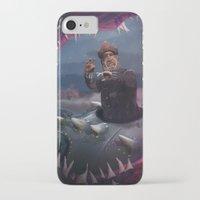 nemo iPhone & iPod Cases featuring Captain Nemo by Josmen9016