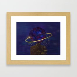 I Contain Multitudes Framed Art Print