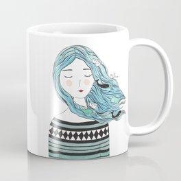 Whales in my hair Coffee Mug