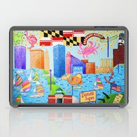 maryland iPad Cases featuring Baltimore, Maryland by Karen Riddle
