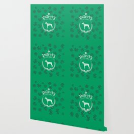 St. Patrick's Day Doberman Funny Gifts for Dog Lovers Wallpaper