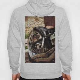Custom Bike Wheel Hoody
