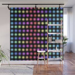 Disco Lights Wall Mural