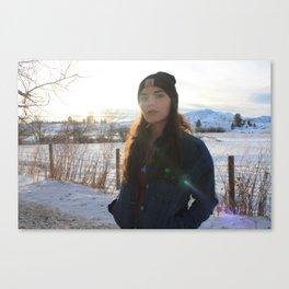 Sunspot Beauty Canvas Print