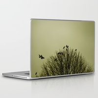 dramatical murder Laptop & iPad Skins featuring A Murder by Sandra Cockayne Photography