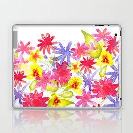 Fresh Flowers Laptop & iPad Skin