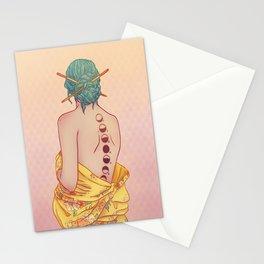 Tsukimi Lady Stationery Cards